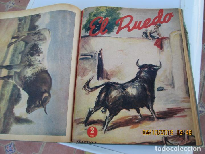 Tauromaquia: EL RUEDO AÑO 1946 23 REVISTAS ENCUADERNADAS DESDE JULIO 1946 HASTA DICIEMBRE BUEN ESTADO - Foto 8 - 164599186
