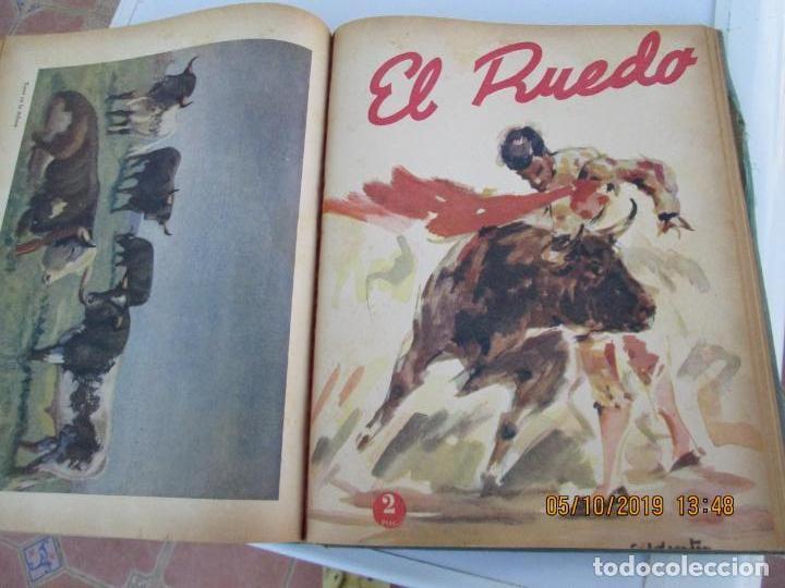 Tauromaquia: EL RUEDO AÑO 1946 23 REVISTAS ENCUADERNADAS DESDE JULIO 1946 HASTA DICIEMBRE BUEN ESTADO - Foto 10 - 164599186