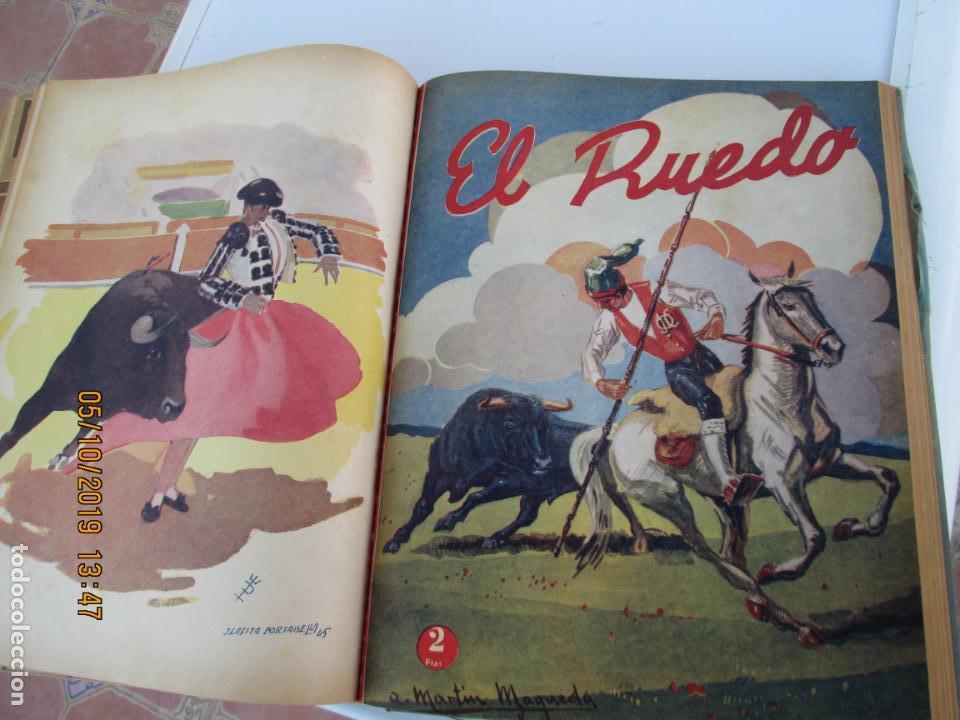 Tauromaquia: EL RUEDO AÑO 1946 23 REVISTAS ENCUADERNADAS DESDE JULIO 1946 HASTA DICIEMBRE BUEN ESTADO - Foto 12 - 164599186