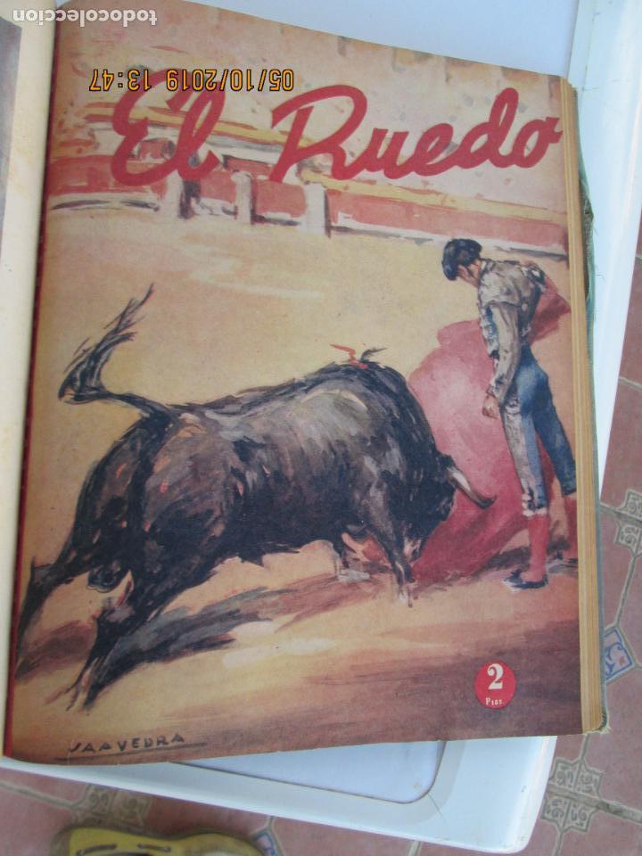 Tauromaquia: EL RUEDO AÑO 1946 23 REVISTAS ENCUADERNADAS DESDE JULIO 1946 HASTA DICIEMBRE BUEN ESTADO - Foto 14 - 164599186