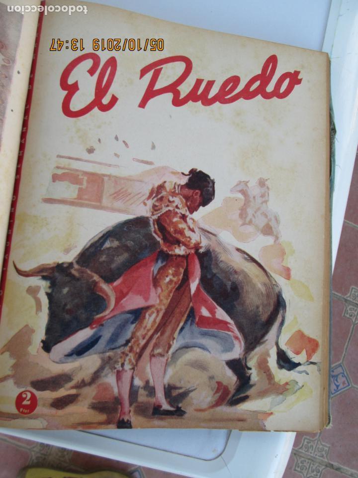 Tauromaquia: EL RUEDO AÑO 1946 23 REVISTAS ENCUADERNADAS DESDE JULIO 1946 HASTA DICIEMBRE BUEN ESTADO - Foto 16 - 164599186