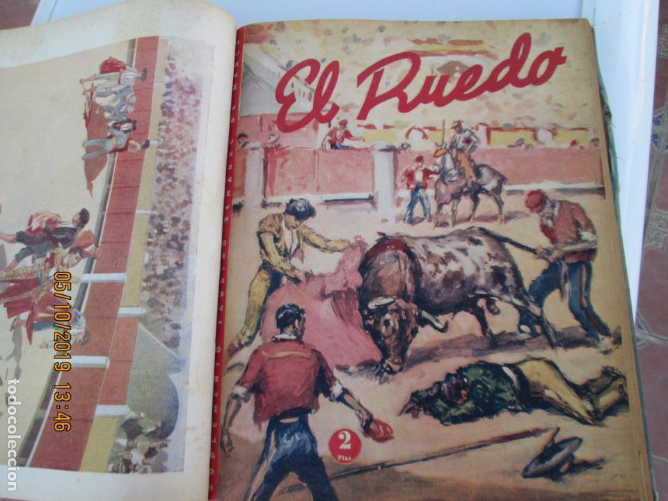 Tauromaquia: EL RUEDO AÑO 1946 23 REVISTAS ENCUADERNADAS DESDE JULIO 1946 HASTA DICIEMBRE BUEN ESTADO - Foto 18 - 164599186