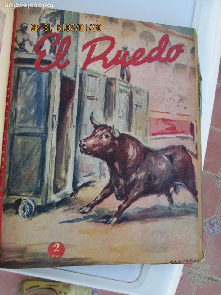 Tauromaquia: EL RUEDO AÑO 1946 23 REVISTAS ENCUADERNADAS DESDE JULIO 1946 HASTA DICIEMBRE BUEN ESTADO - Foto 20 - 164599186