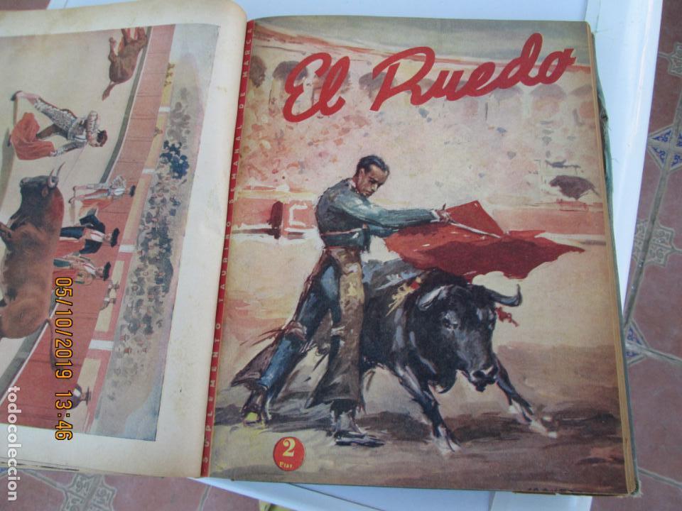 Tauromaquia: EL RUEDO AÑO 1946 23 REVISTAS ENCUADERNADAS DESDE JULIO 1946 HASTA DICIEMBRE BUEN ESTADO - Foto 22 - 164599186