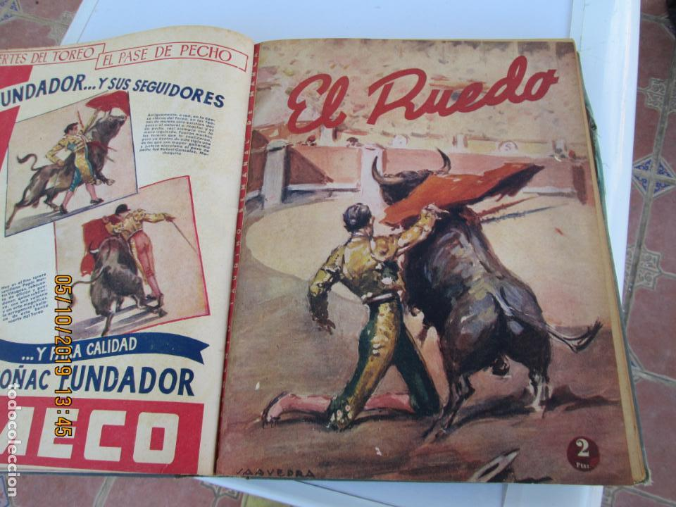 Tauromaquia: EL RUEDO AÑO 1946 23 REVISTAS ENCUADERNADAS DESDE JULIO 1946 HASTA DICIEMBRE BUEN ESTADO - Foto 24 - 164599186