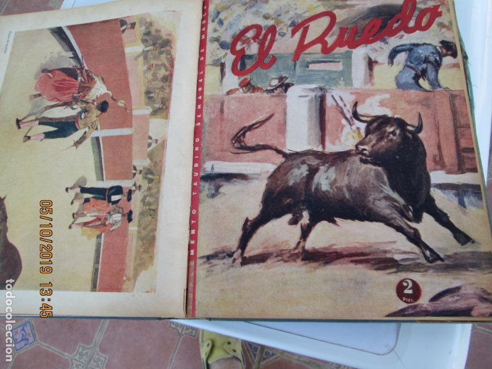 Tauromaquia: EL RUEDO AÑO 1946 23 REVISTAS ENCUADERNADAS DESDE JULIO 1946 HASTA DICIEMBRE BUEN ESTADO - Foto 26 - 164599186