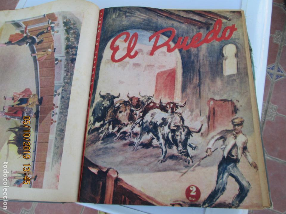 Tauromaquia: EL RUEDO AÑO 1946 23 REVISTAS ENCUADERNADAS DESDE JULIO 1946 HASTA DICIEMBRE BUEN ESTADO - Foto 28 - 164599186
