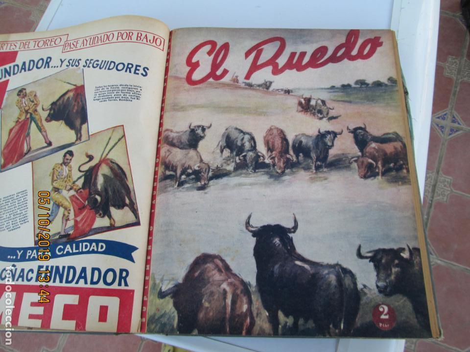 Tauromaquia: EL RUEDO AÑO 1946 23 REVISTAS ENCUADERNADAS DESDE JULIO 1946 HASTA DICIEMBRE BUEN ESTADO - Foto 30 - 164599186