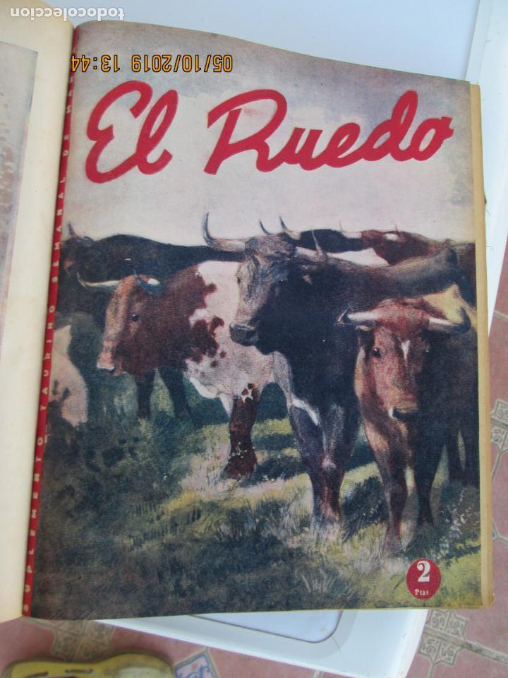 Tauromaquia: EL RUEDO AÑO 1946 23 REVISTAS ENCUADERNADAS DESDE JULIO 1946 HASTA DICIEMBRE BUEN ESTADO - Foto 32 - 164599186