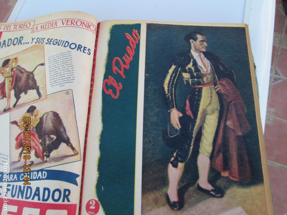 Tauromaquia: EL RUEDO AÑO 1946 23 REVISTAS ENCUADERNADAS DESDE JULIO 1946 HASTA DICIEMBRE BUEN ESTADO - Foto 34 - 164599186