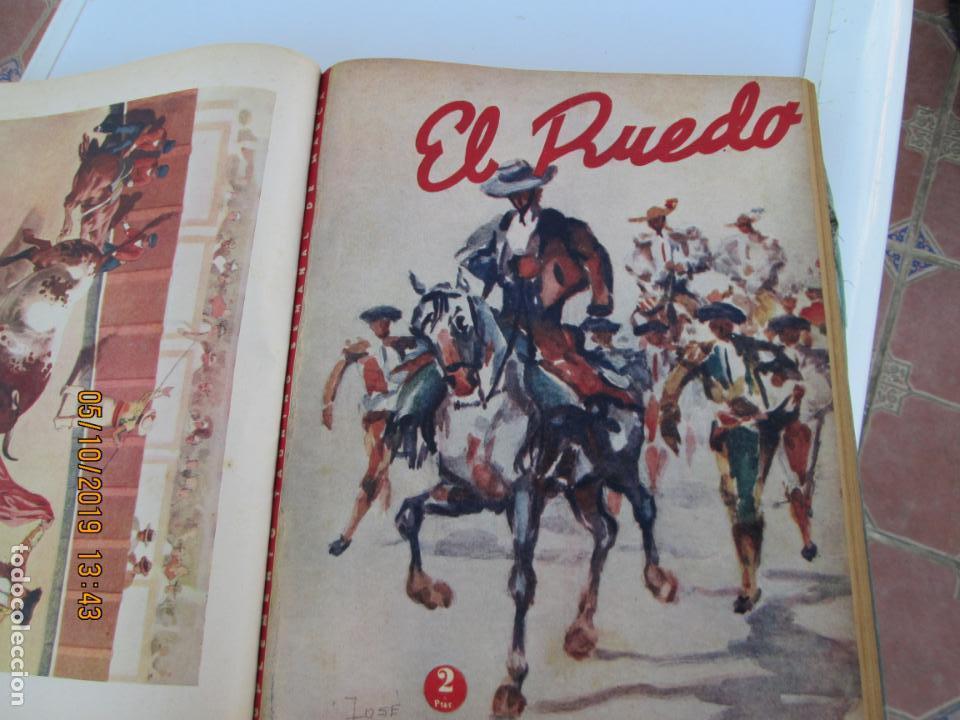 Tauromaquia: EL RUEDO AÑO 1946 23 REVISTAS ENCUADERNADAS DESDE JULIO 1946 HASTA DICIEMBRE BUEN ESTADO - Foto 36 - 164599186