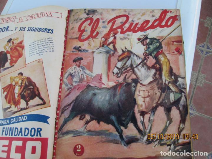 Tauromaquia: EL RUEDO AÑO 1946 23 REVISTAS ENCUADERNADAS DESDE JULIO 1946 HASTA DICIEMBRE BUEN ESTADO - Foto 38 - 164599186