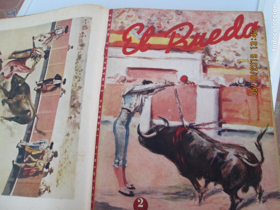 Tauromaquia: EL RUEDO AÑO 1946 23 REVISTAS ENCUADERNADAS DESDE JULIO 1946 HASTA DICIEMBRE BUEN ESTADO - Foto 40 - 164599186