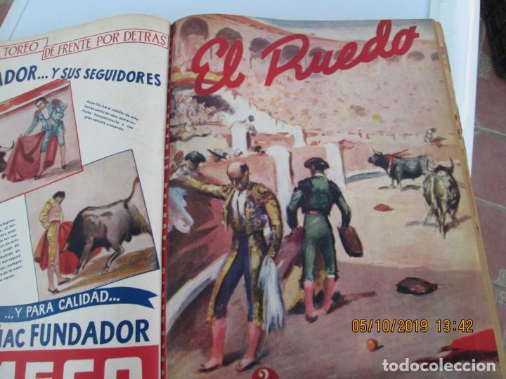 Tauromaquia: EL RUEDO AÑO 1946 23 REVISTAS ENCUADERNADAS DESDE JULIO 1946 HASTA DICIEMBRE BUEN ESTADO - Foto 42 - 164599186