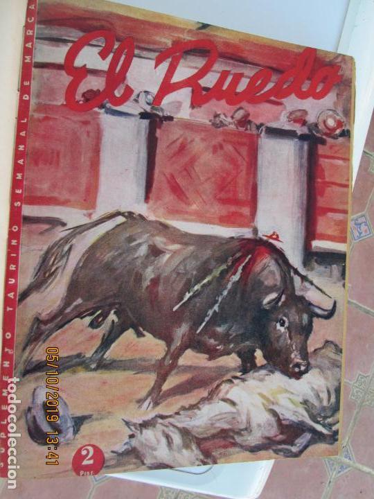 Tauromaquia: EL RUEDO AÑO 1946 23 REVISTAS ENCUADERNADAS DESDE JULIO 1946 HASTA DICIEMBRE BUEN ESTADO - Foto 44 - 164599186