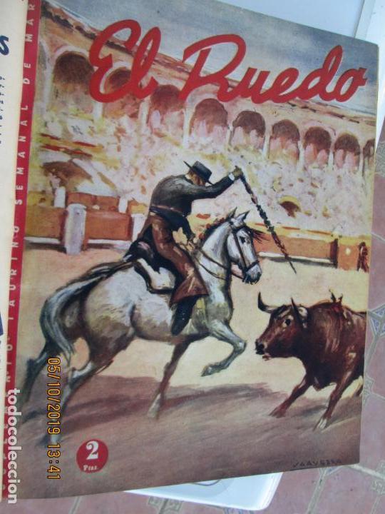Tauromaquia: EL RUEDO AÑO 1946 23 REVISTAS ENCUADERNADAS DESDE JULIO 1946 HASTA DICIEMBRE BUEN ESTADO - Foto 46 - 164599186