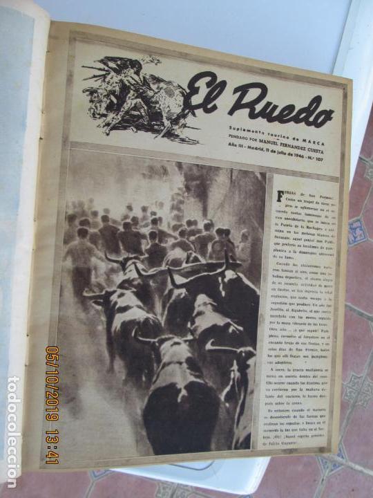 Tauromaquia: EL RUEDO AÑO 1946 23 REVISTAS ENCUADERNADAS DESDE JULIO 1946 HASTA DICIEMBRE BUEN ESTADO - Foto 47 - 164599186
