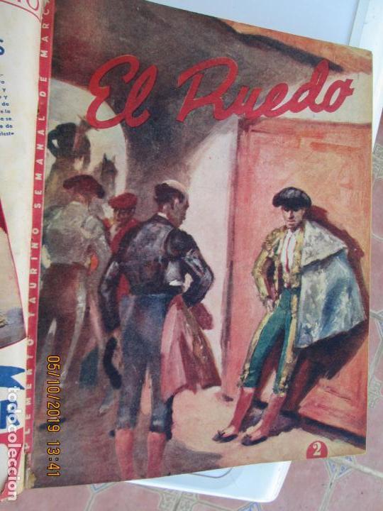 Tauromaquia: EL RUEDO AÑO 1946 23 REVISTAS ENCUADERNADAS DESDE JULIO 1946 HASTA DICIEMBRE BUEN ESTADO - Foto 48 - 164599186