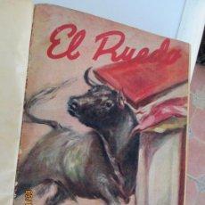 Tauromaquia: EL RUEDO AÑO 1946 23 REVISTAS ENCUADERNADAS DESDE JULIO 1946 HASTA DICIEMBRE BUEN ESTADO. Lote 164599186