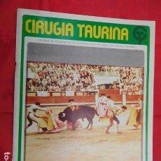 Tauromaquia: REVISTA DE CIRUGIA TAURINA, JULIO DE 1978. Lote 164857750