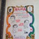 Tauromaquia: PAÑUELO DE TOROS, CARTEL TAURINO 1994 MÁLAGA ORTEGA CANO, CESAR RINCON, LITRI MIGUEL BAEZ. Lote 165292030