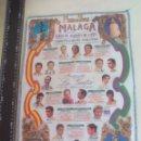 Tauromaquia: PAÑUELO DE TOROS, CARTEL TAURINO 1994 MÁLAGA FERIA AGOSTO . Lote 165293106