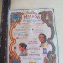 Tauromaquia: PAÑUELO DE TOROS, CARTEL TAURINO 1994 MÁLAGA FERIA AGOSTO JOSE MARIA MANZANARES, JAVIER CONDE. Lote 165293410