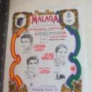 Tauromaquia: PAÑUELO DE TOROS, CARTEL TAURINO 1994 MÁLAGA ORTEGA CANO, CESAR RINCON, MIGUEL BAEZ LITRI. Lote 165293658