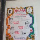 Tauromaquia: PAÑUELO DE TOROS, CARTEL TAURINO 1994 MÁLAGA JUAN JOSE TRUJILLO, RICARDO ORTIZ, JAVIER CONDE. Lote 165293738