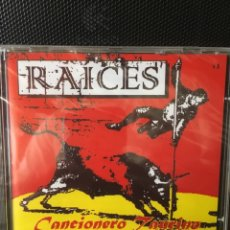 Tauromaquia: RAICES-CANCIONERO TAURINO TRADICIONAL-1996-CD PRECINTADO. Lote 165998057