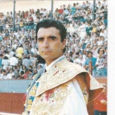 Tauromaquia: FOTOS PUBLICITARIAS DE TOREROS. ORTEGA CANO 26 X 17 CM. Lote 166610494