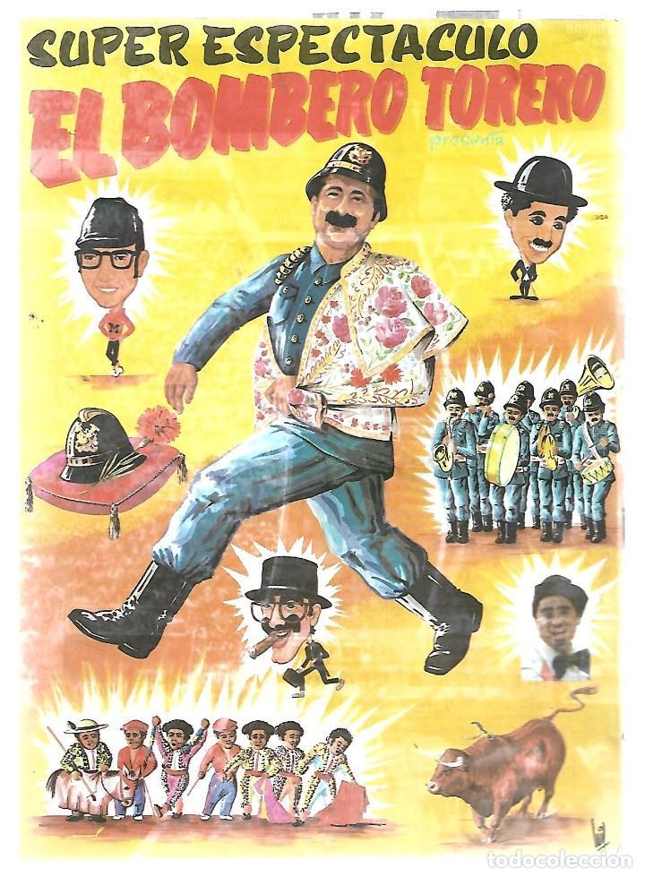 Tauromaquia: C150- CARTEL DE EL BOMBERO TORERO EN LA PLAZA DE TOROS DE JAEN EL 9 - JUNIO - 1991 - Foto 2 - 166811158