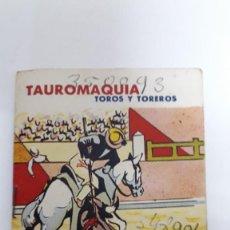 Tauromaquia: TAUROMAQUIA, TOROS Y TOREROS / LIBRILLO. 1966. Lote 166823038