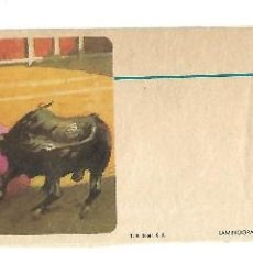 Tauromaquia: C150- BLOQUE DE 4 ENTRADAS SIN IMPRIMIR - SOLO LA CARATULA ORIGINALES. Lote 166983060
