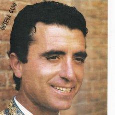 Tauromaquia: FOTOS PUBLICITARIAS DE TOREROS. ORTEGA CANO 24 X 17.5 CM. Lote 167073561