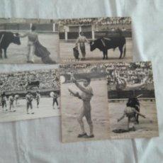 Tauromachie: 5 FOTOGRAFIAS DEL TORERO VAZQUEZ. FOTOGRAFIA FLOREZ . PALMA DE MALLORCA. Lote 167247944