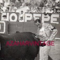Tauromaquia: ANTIGUA FOTOGRAFIA DE ANTONIO CHENEL, ANTOÑETE, FOT.ARJONA, 128X178MM. Lote 167743032