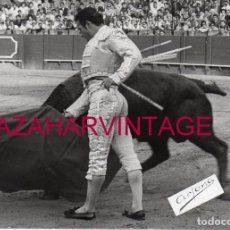 Tauromaquia: ANTIGUA FOTOGRAFIA DE CURRO ROMERO, FOT.ARJONA, 128X178MM. Lote 167743184