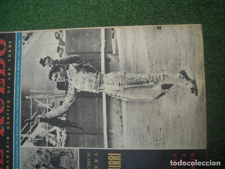 Tauromaquia: EL RUEDO SEMANARIO GRÁFICO DE LOS TOROS 73 EJEMPLARES AÑO 1962 1966 1967 1968 1970 1971 1972 1973 - Foto 5 - 167847784