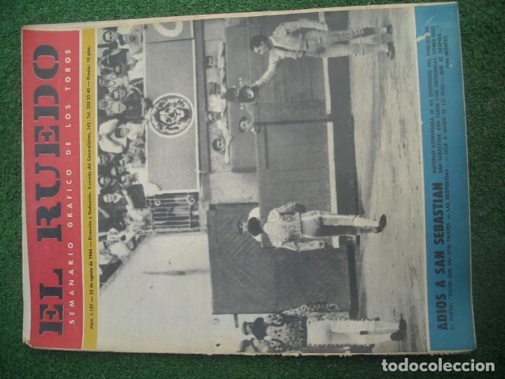 Tauromaquia: EL RUEDO SEMANARIO GRÁFICO DE LOS TOROS 73 EJEMPLARES AÑO 1962 1966 1967 1968 1970 1971 1972 1973 - Foto 7 - 167847784