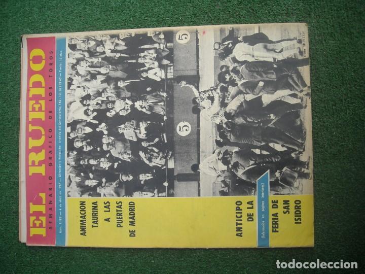Tauromaquia: EL RUEDO SEMANARIO GRÁFICO DE LOS TOROS 73 EJEMPLARES AÑO 1962 1966 1967 1968 1970 1971 1972 1973 - Foto 11 - 167847784