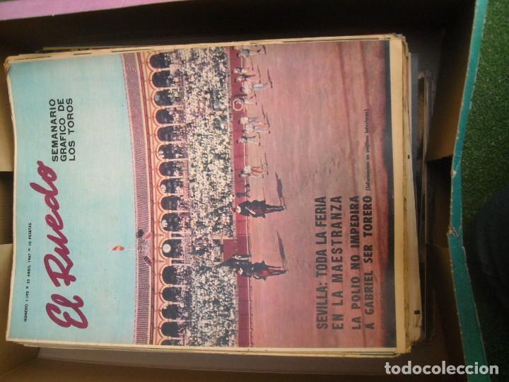 Tauromaquia: EL RUEDO SEMANARIO GRÁFICO DE LOS TOROS 73 EJEMPLARES AÑO 1962 1966 1967 1968 1970 1971 1972 1973 - Foto 16 - 167847784