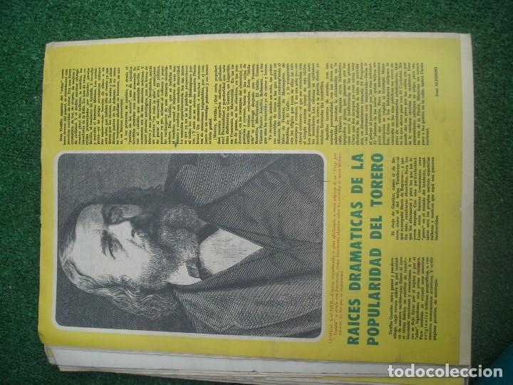 Tauromaquia: EL RUEDO SEMANARIO GRÁFICO DE LOS TOROS 73 EJEMPLARES AÑO 1962 1966 1967 1968 1970 1971 1972 1973 - Foto 19 - 167847784