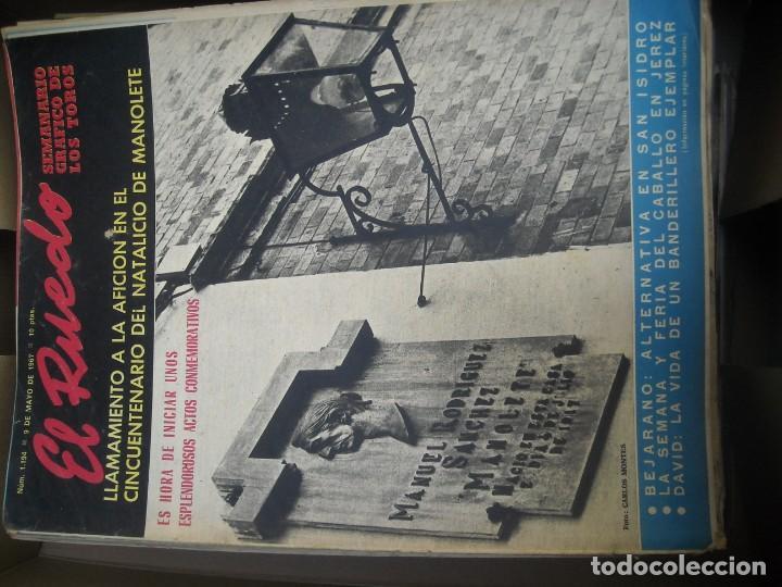 Tauromaquia: EL RUEDO SEMANARIO GRÁFICO DE LOS TOROS 73 EJEMPLARES AÑO 1962 1966 1967 1968 1970 1971 1972 1973 - Foto 20 - 167847784