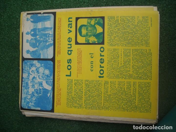 Tauromaquia: EL RUEDO SEMANARIO GRÁFICO DE LOS TOROS 73 EJEMPLARES AÑO 1962 1966 1967 1968 1970 1971 1972 1973 - Foto 21 - 167847784