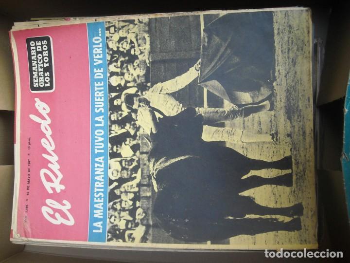 Tauromaquia: EL RUEDO SEMANARIO GRÁFICO DE LOS TOROS 73 EJEMPLARES AÑO 1962 1966 1967 1968 1970 1971 1972 1973 - Foto 22 - 167847784