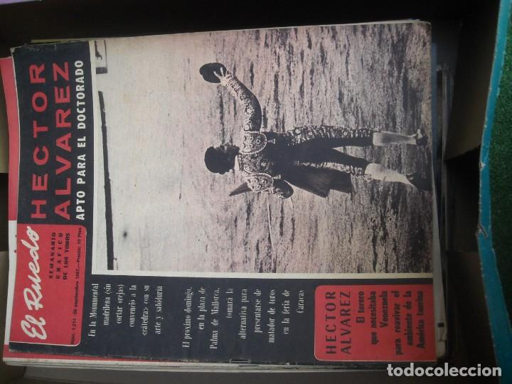 Tauromaquia: EL RUEDO SEMANARIO GRÁFICO DE LOS TOROS 73 EJEMPLARES AÑO 1962 1966 1967 1968 1970 1971 1972 1973 - Foto 24 - 167847784