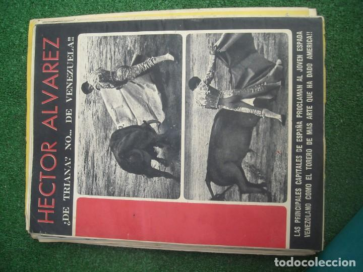 Tauromaquia: EL RUEDO SEMANARIO GRÁFICO DE LOS TOROS 73 EJEMPLARES AÑO 1962 1966 1967 1968 1970 1971 1972 1973 - Foto 25 - 167847784