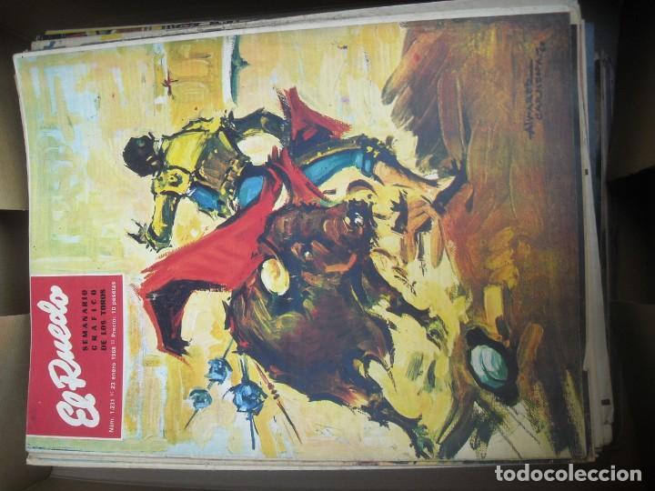 Tauromaquia: EL RUEDO SEMANARIO GRÁFICO DE LOS TOROS 73 EJEMPLARES AÑO 1962 1966 1967 1968 1970 1971 1972 1973 - Foto 30 - 167847784
