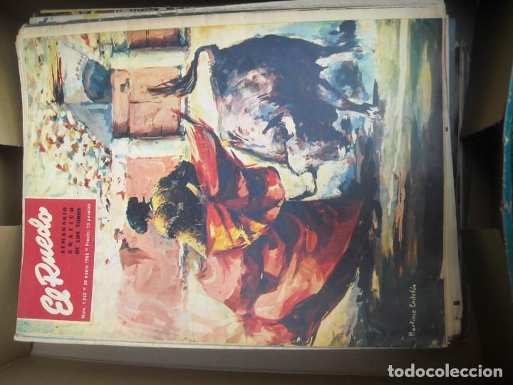 Tauromaquia: EL RUEDO SEMANARIO GRÁFICO DE LOS TOROS 73 EJEMPLARES AÑO 1962 1966 1967 1968 1970 1971 1972 1973 - Foto 32 - 167847784